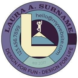 Personal Circular Logo - image 1 - student project