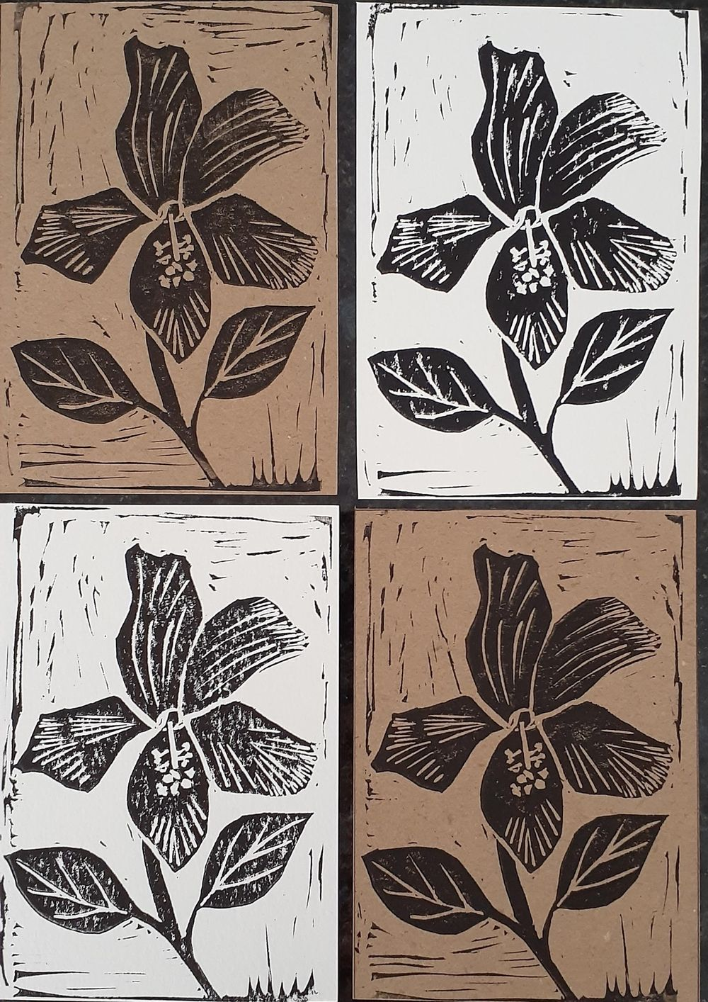 Block printing - image 1 - student project