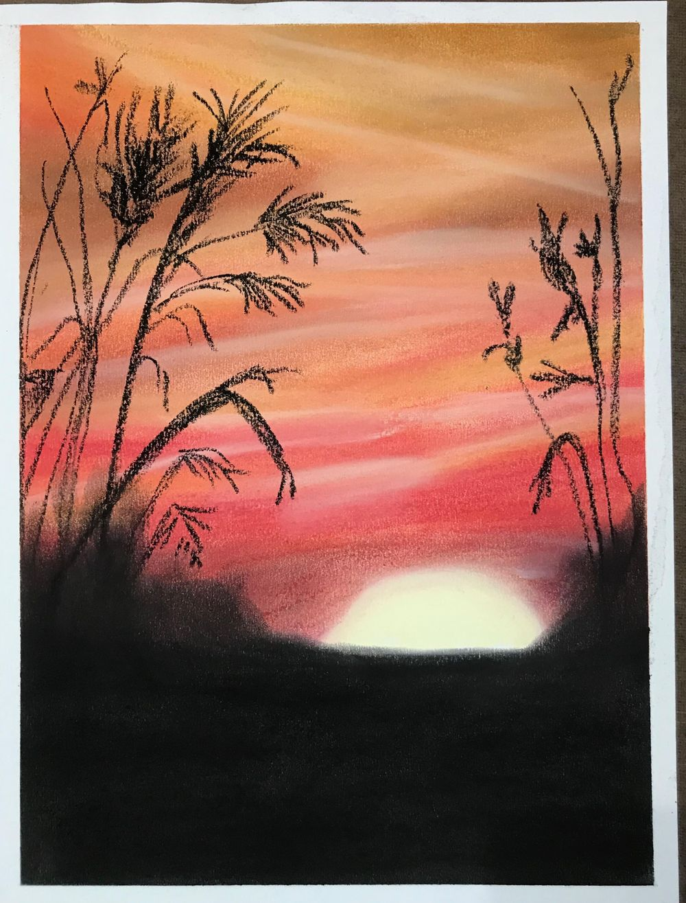 Pastel Sunset - image 1 - student project