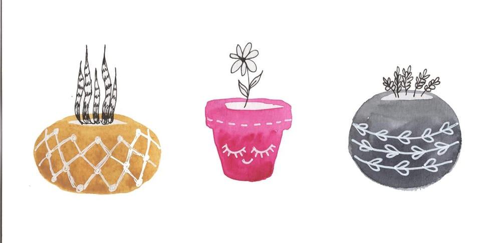 Succulent Pots - image 2 - student project