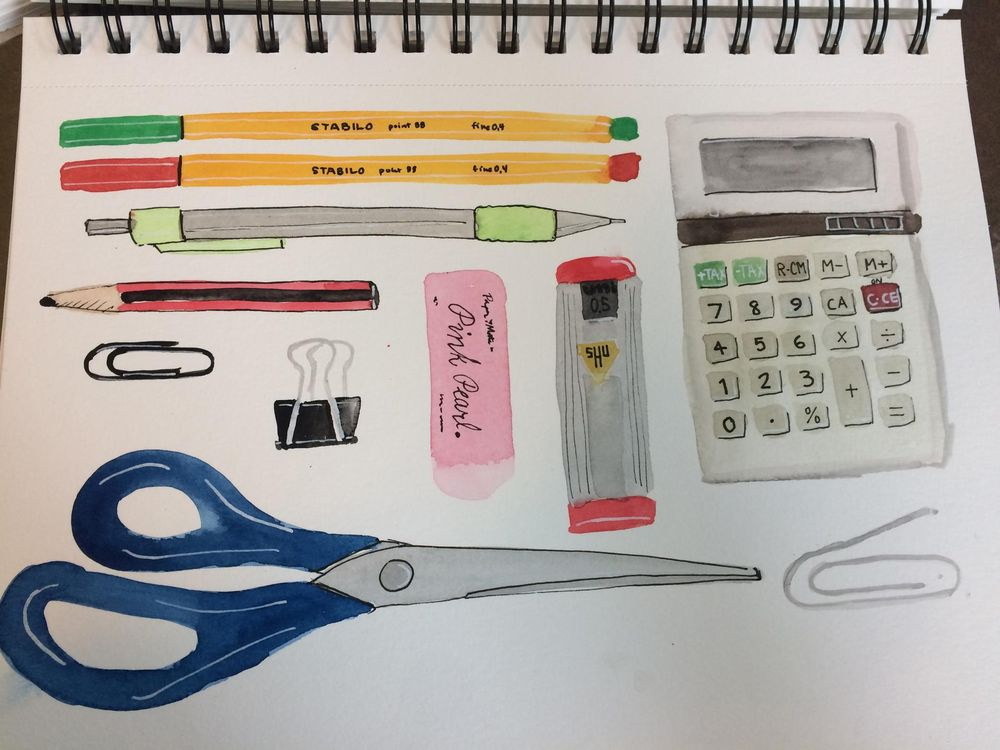 three days of sketchbook ... so far! - image 3 - student project
