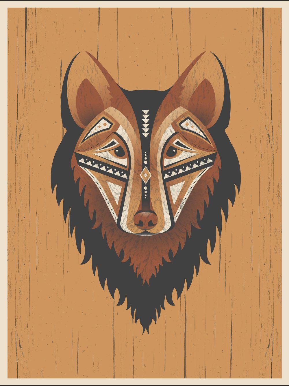 Geometric Wolf - image 9 - student project