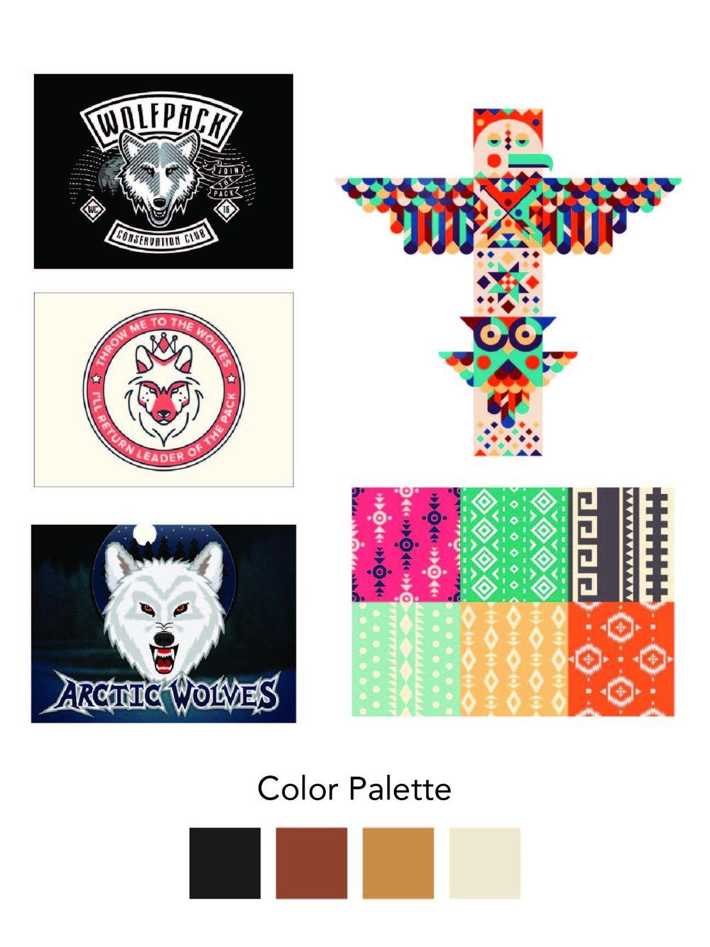 Geometric Wolf - image 2 - student project