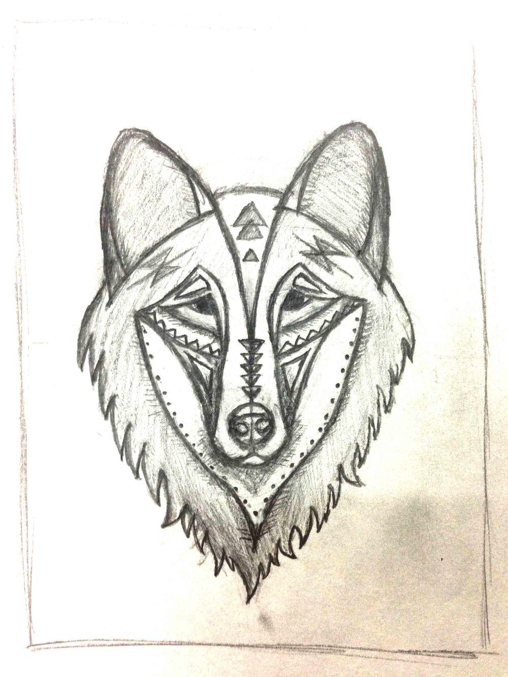 Geometric Wolf - image 3 - student project