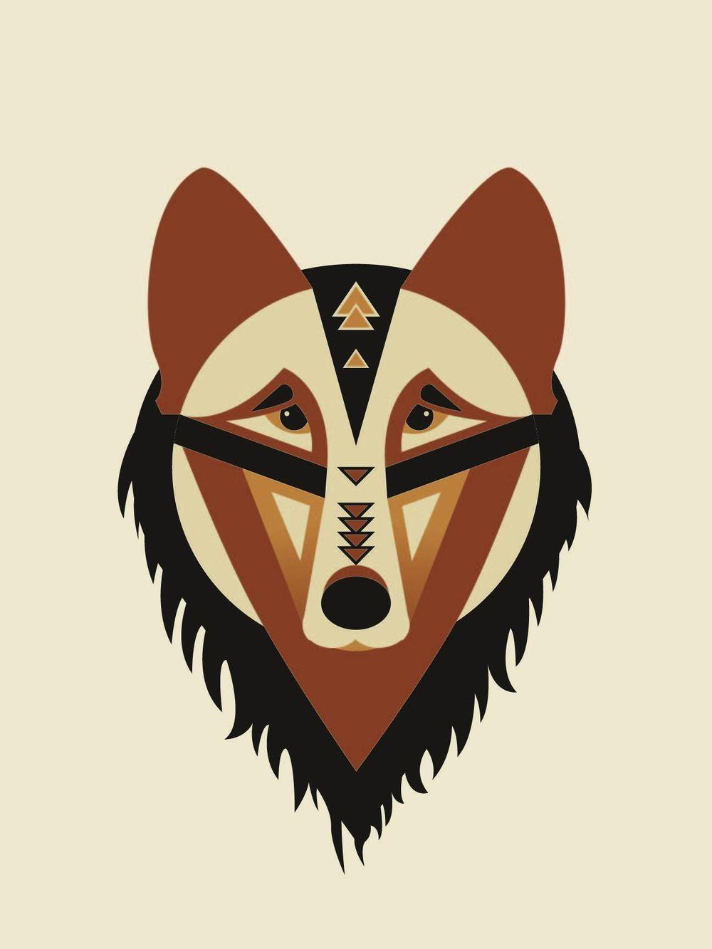 Geometric Wolf - image 4 - student project