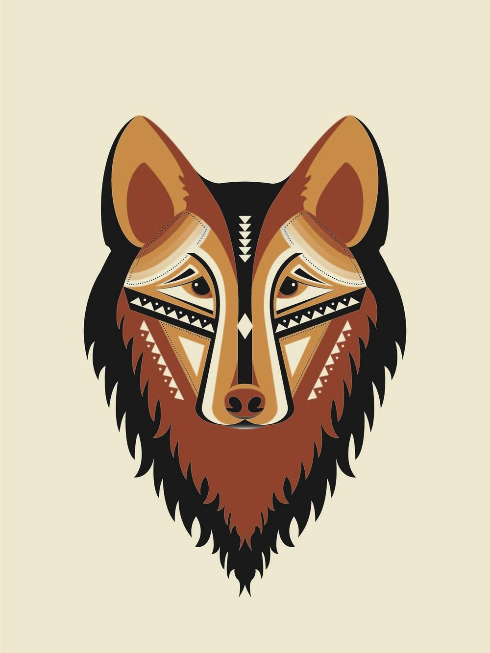Geometric Wolf - image 7 - student project