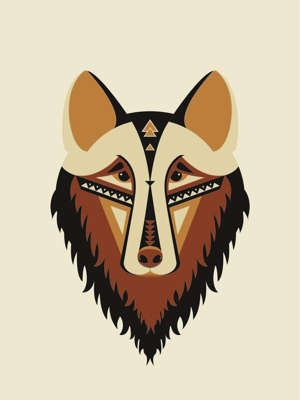 Geometric Wolf - image 5 - student project