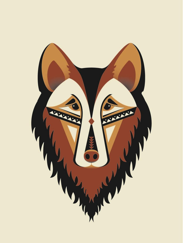Geometric Wolf - image 6 - student project