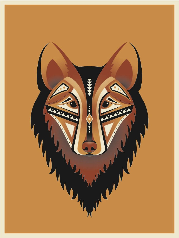 Geometric Wolf - image 8 - student project