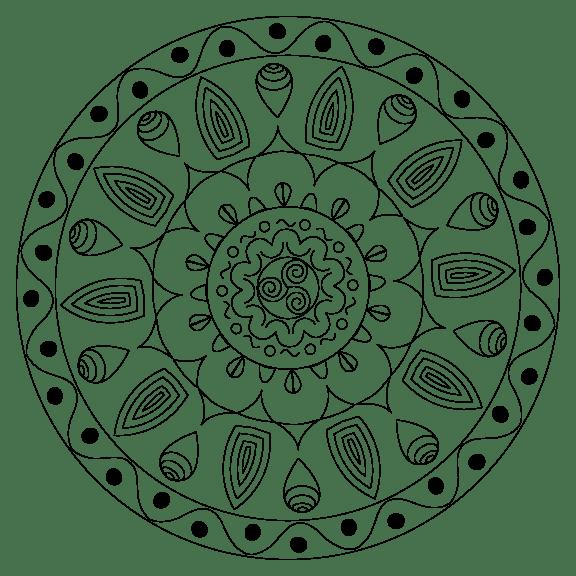 Indian Mandala - image 1 - student project