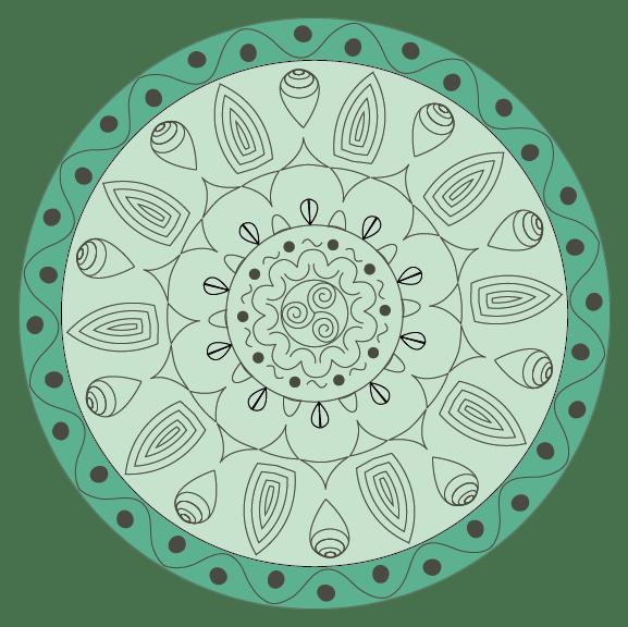 Indian Mandala - image 2 - student project