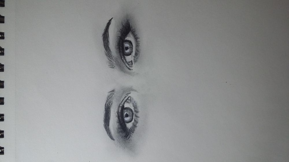 Study eyes with ref - image 1 - student project