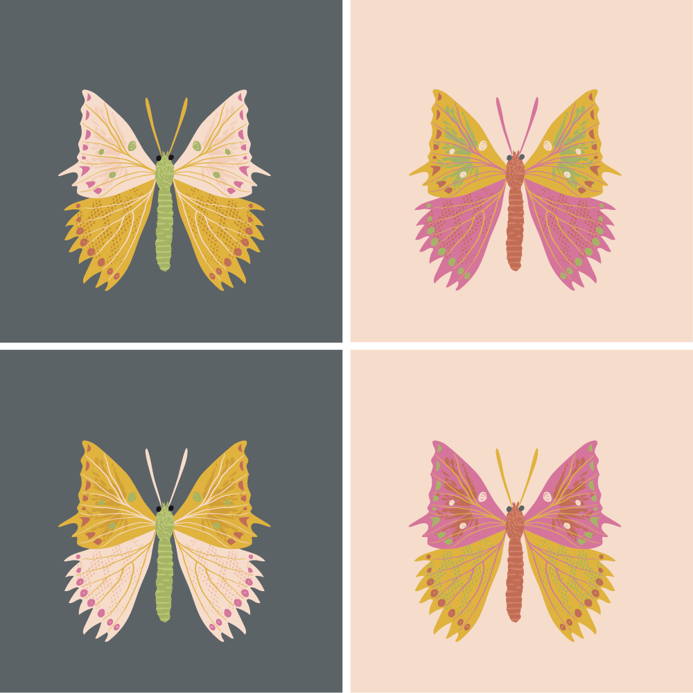 Butterflies (example project) - image 2 - student project