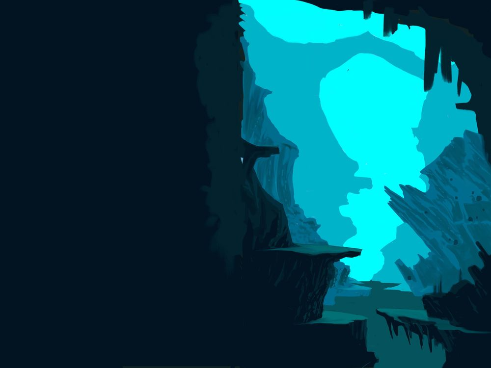 blue cave 2 - image 2 - student project