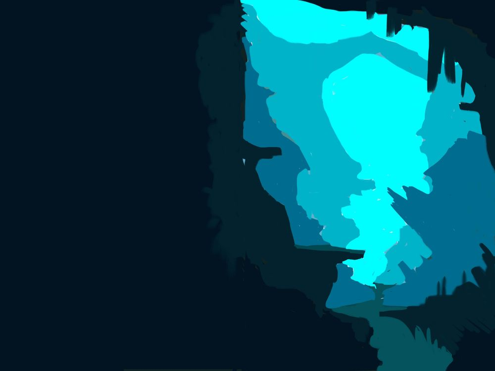 blue cave 2 - image 1 - student project
