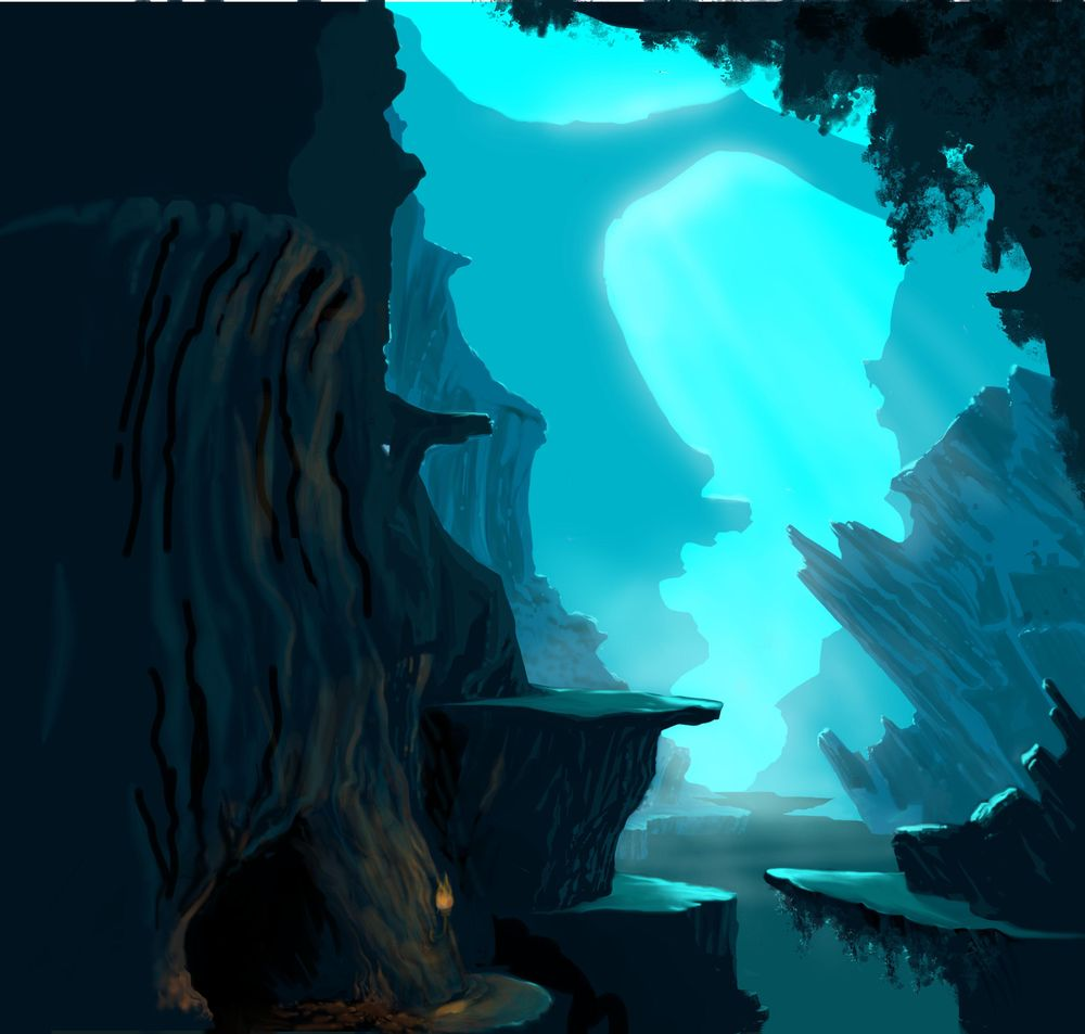blue cave 2 - image 3 - student project