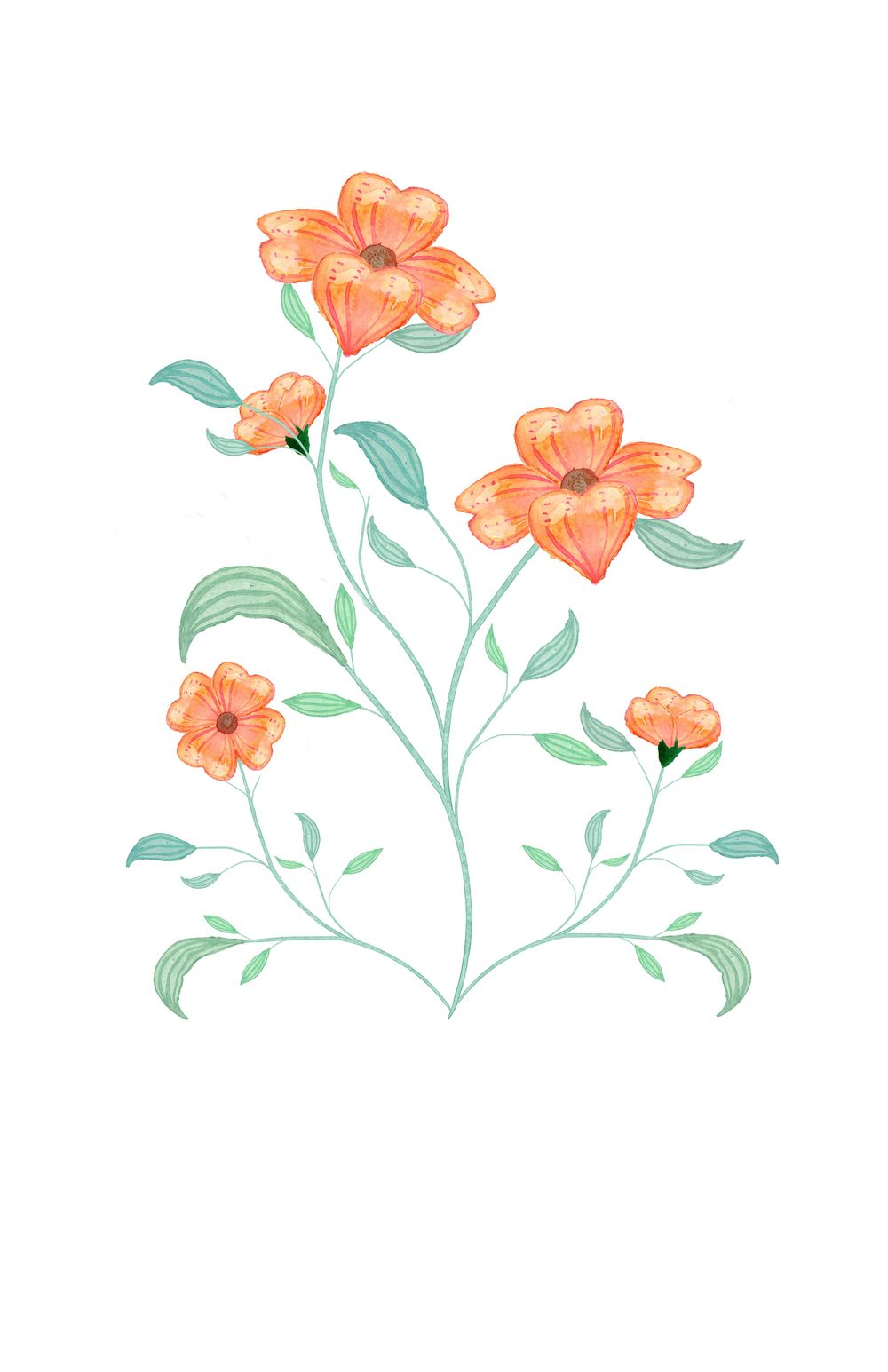 Botanical Scenes in Photoshop exercises - image 2 - student project