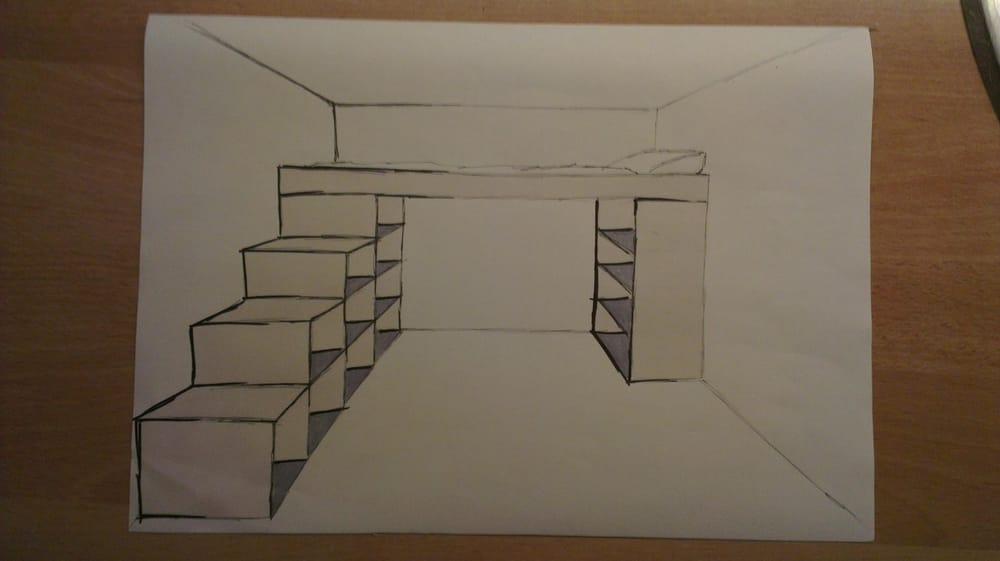 Bedroom design / industrial design - image 5 - student project