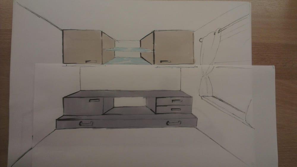 Bedroom design / industrial design - image 3 - student project