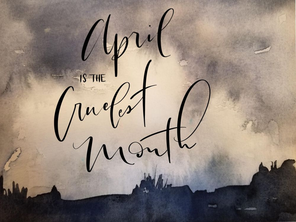 April is the cruelest month - image 1 - student project