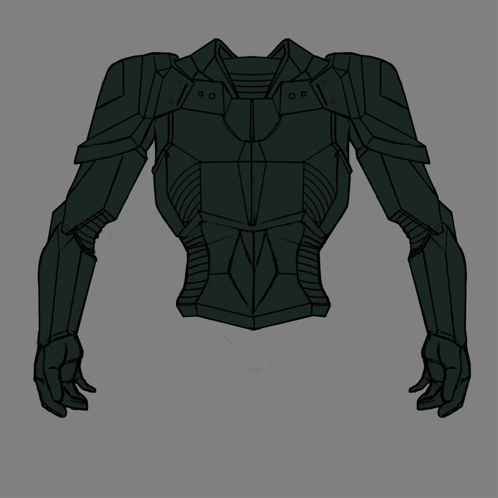 Battle armour - image 4 - student project