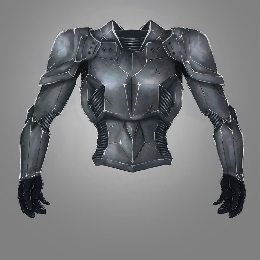 Battle armour - image 7 - student project