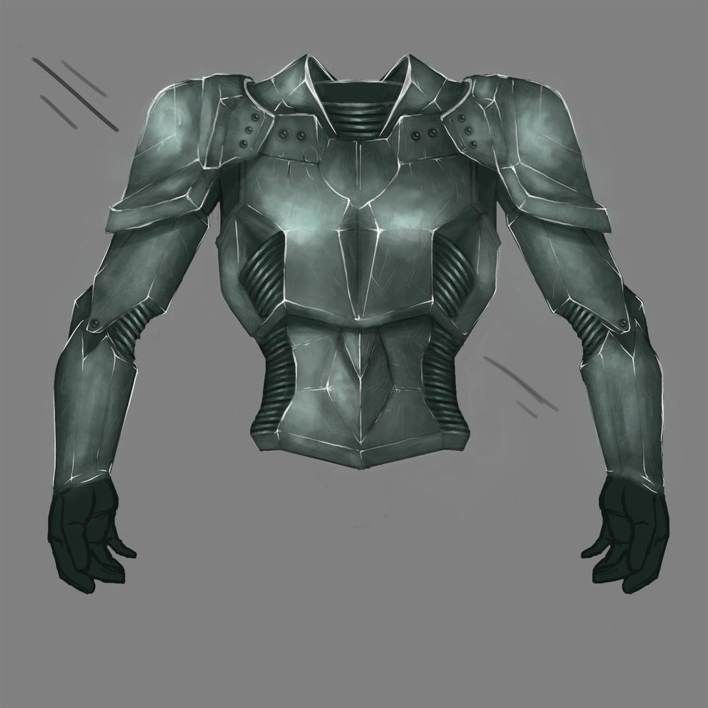 Battle armour - image 6 - student project