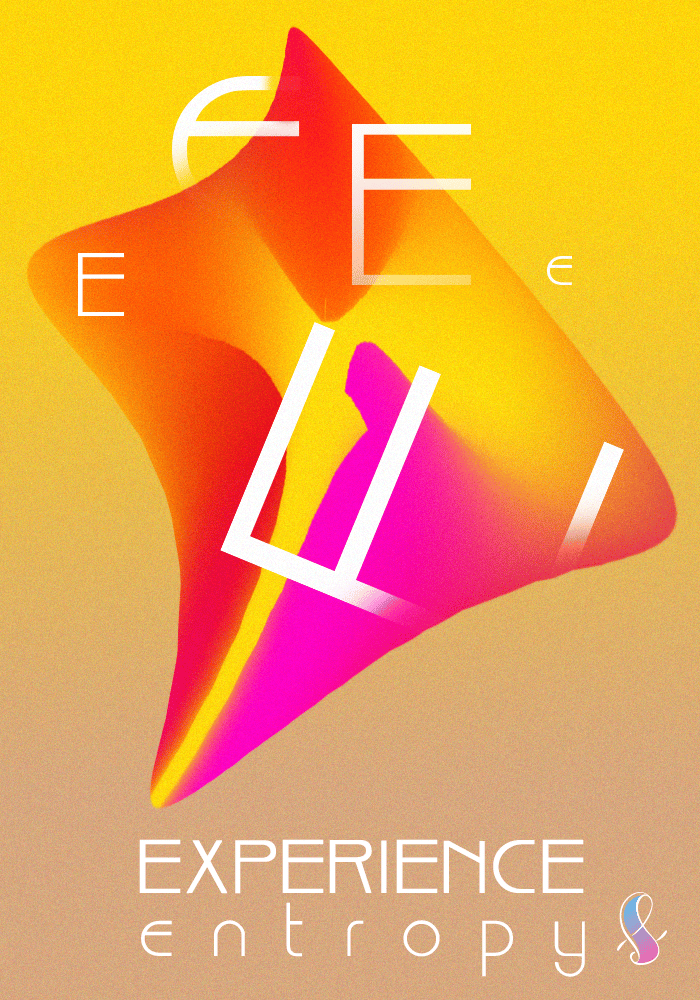 """""""Entropy"""" Experimental Gradient Poster - image 2 - student project"""