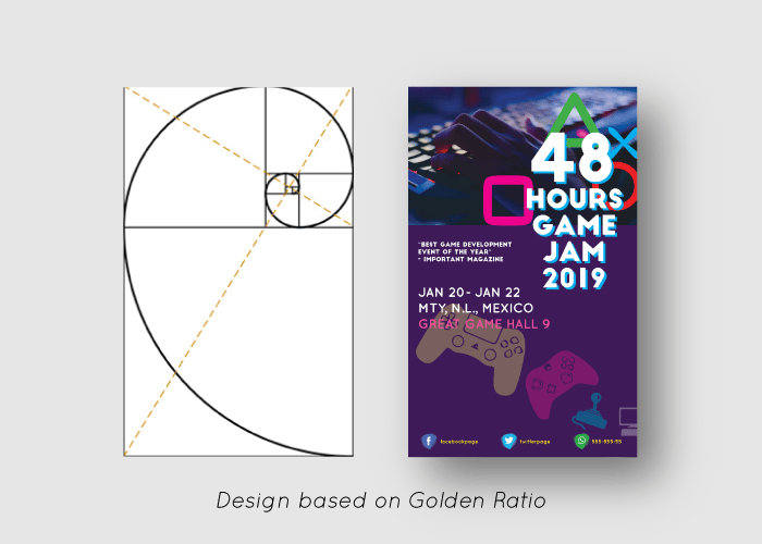 Game Jam Poster Layout Design - image 3 - student project