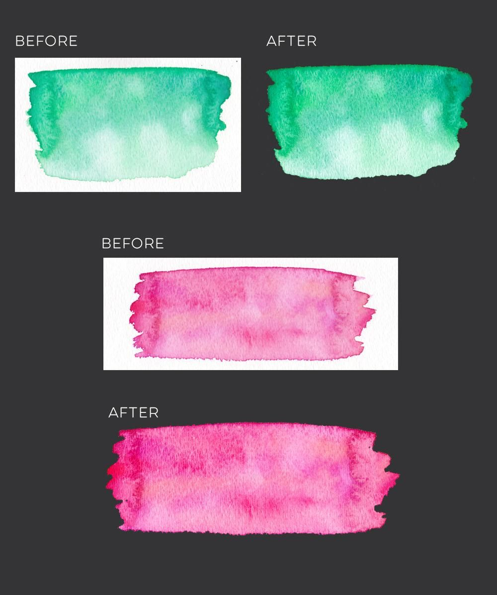 Sample Project: Variety Watercolor Textures - image 1 - student project