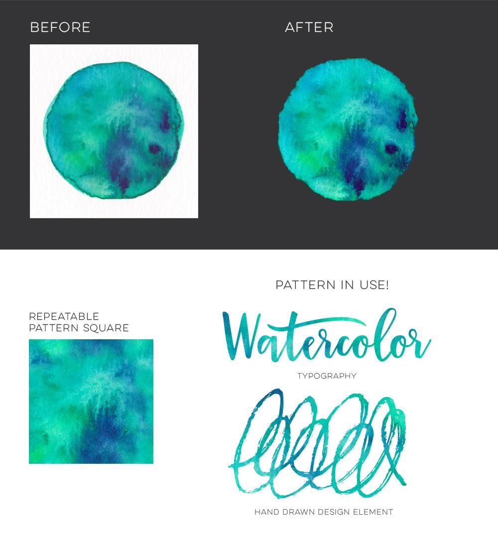 Sample Project: Variety Watercolor Textures - image 3 - student project