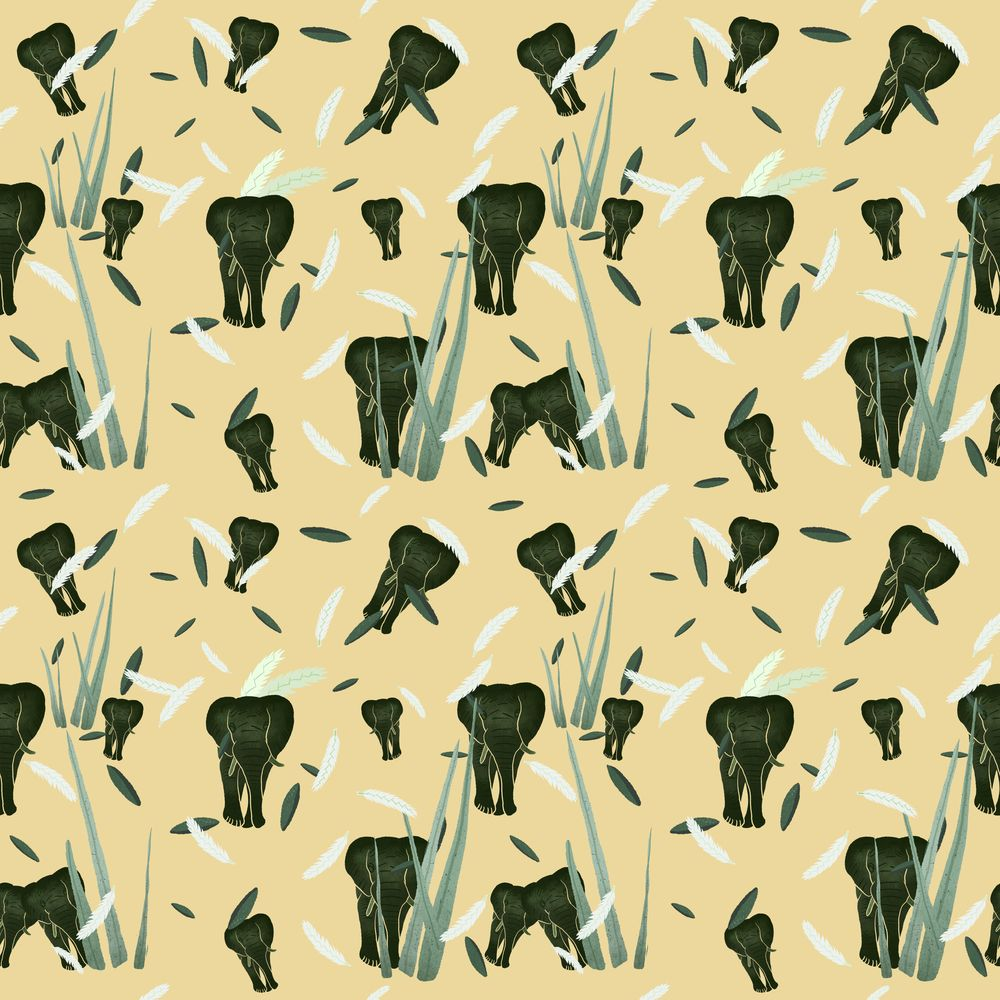 Savanna pattern - image 2 - student project