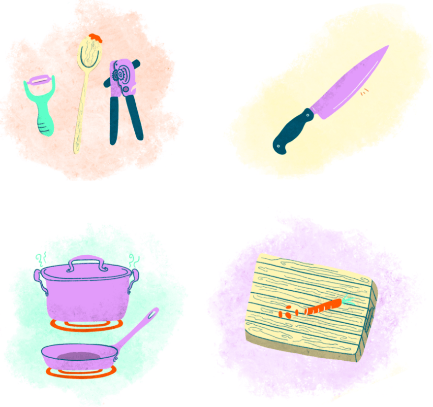 Learning How to Cook - image 1 - student project