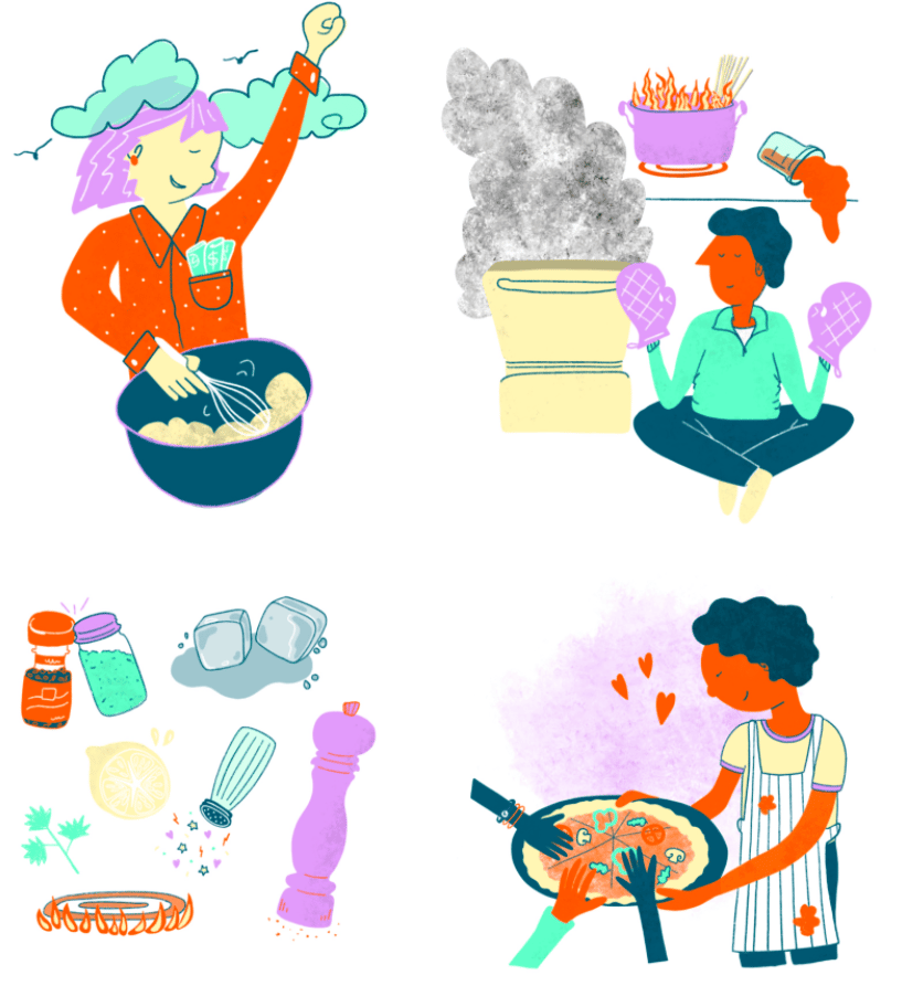 Learning How to Cook - image 2 - student project