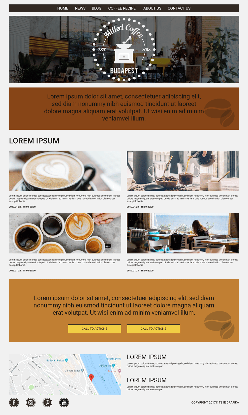Milled Coffee Budapest - image 1 - student project