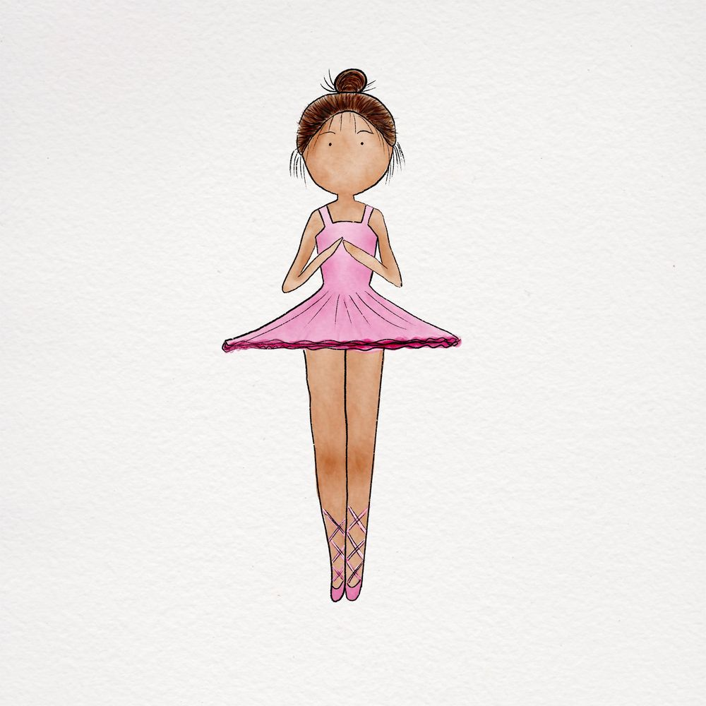 Little ballerina - image 1 - student project