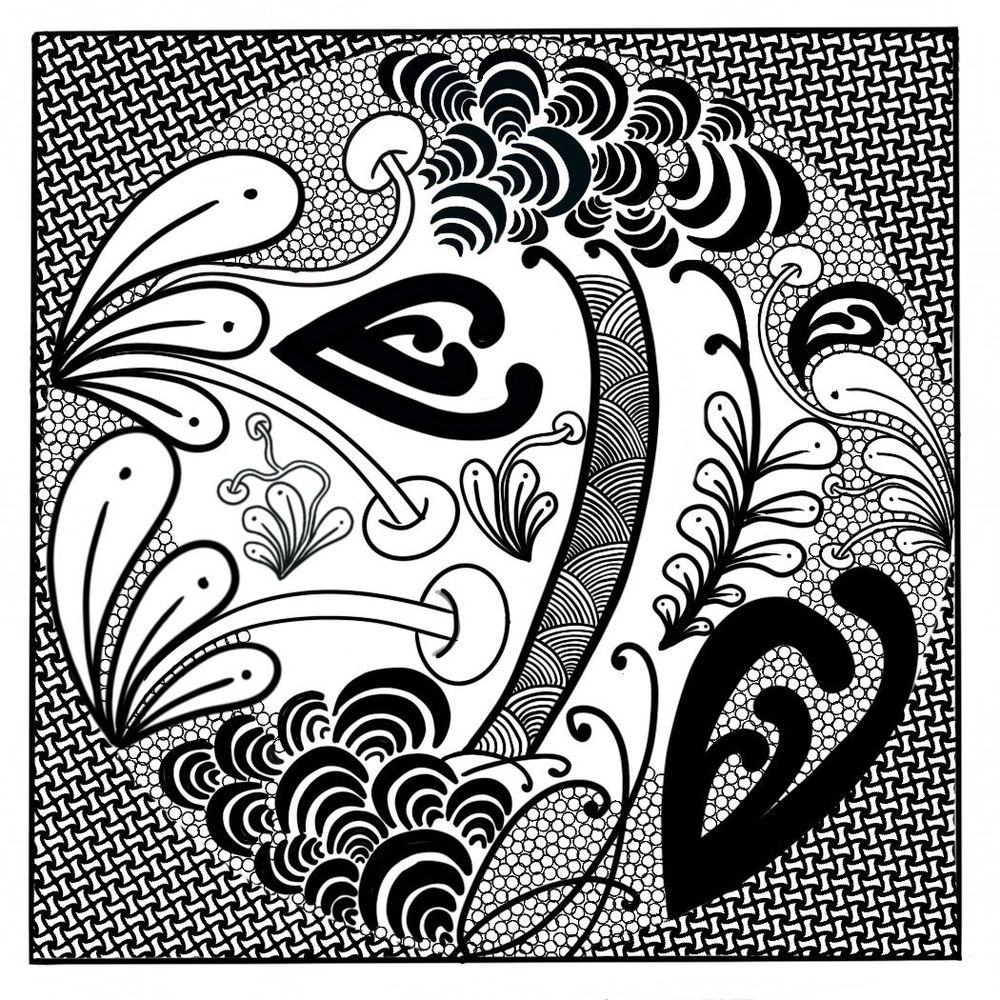 ZENtangle Therapy - image 2 - student project