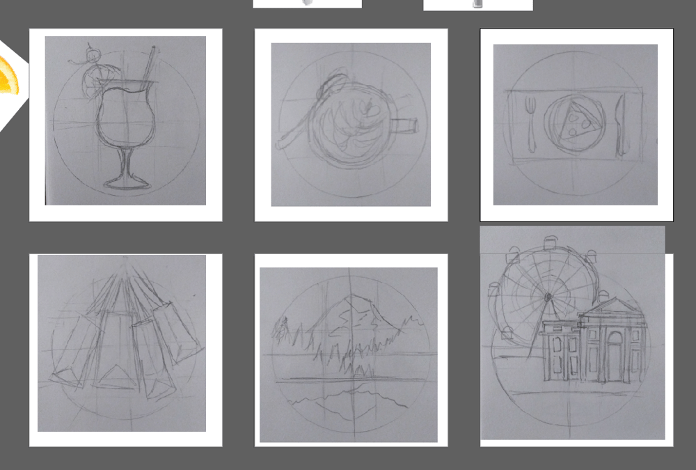 Travel Guide Icons - image 1 - student project