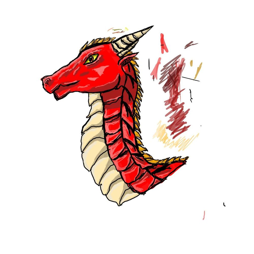 red dragon - image 1 - student project