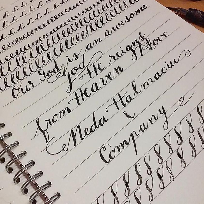 My Calligraphy Beginnings - image 1 - student project
