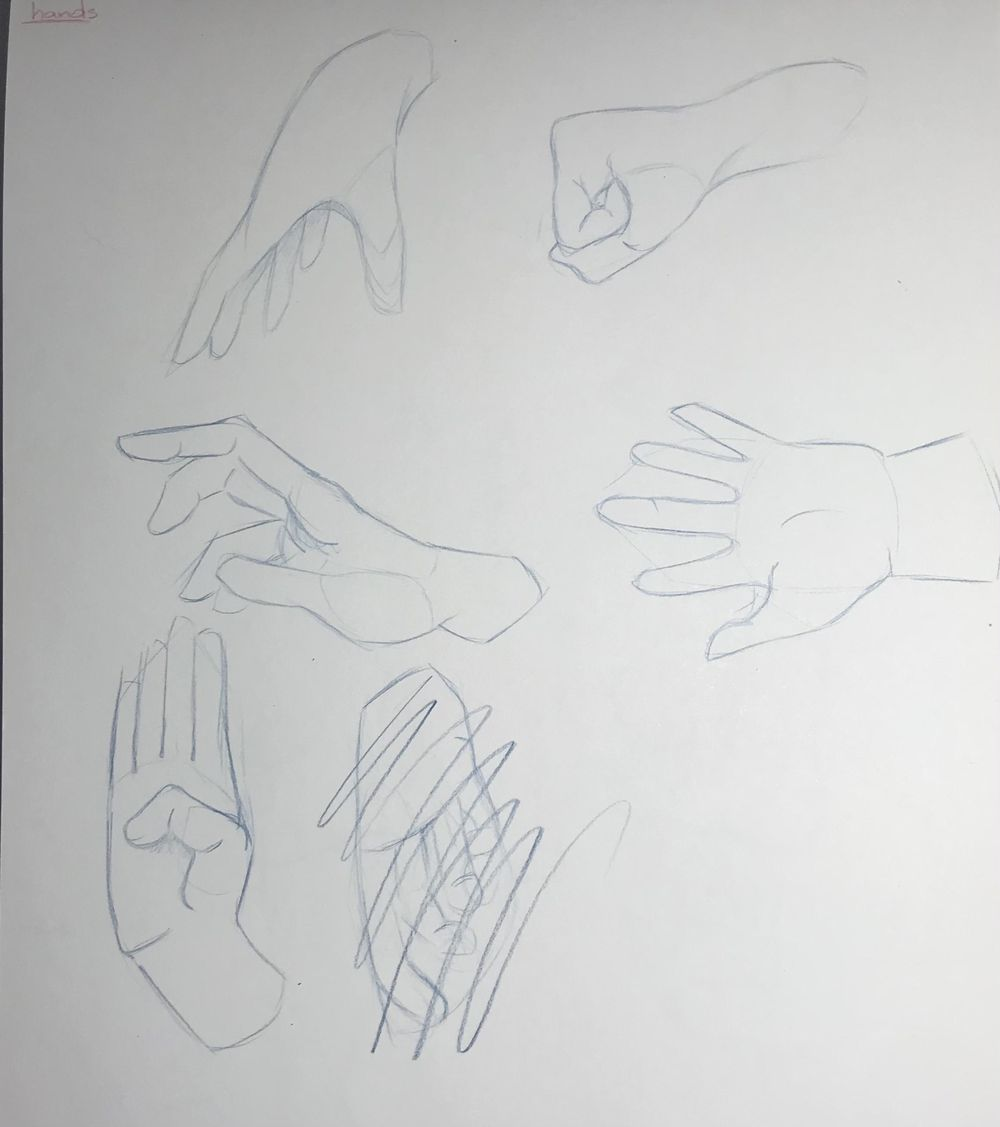 Gesture Drawing Practice (3) - image 2 - student project
