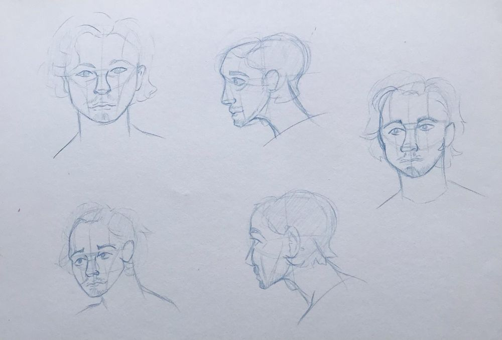 Head Drawing Session (5) - image 1 - student project