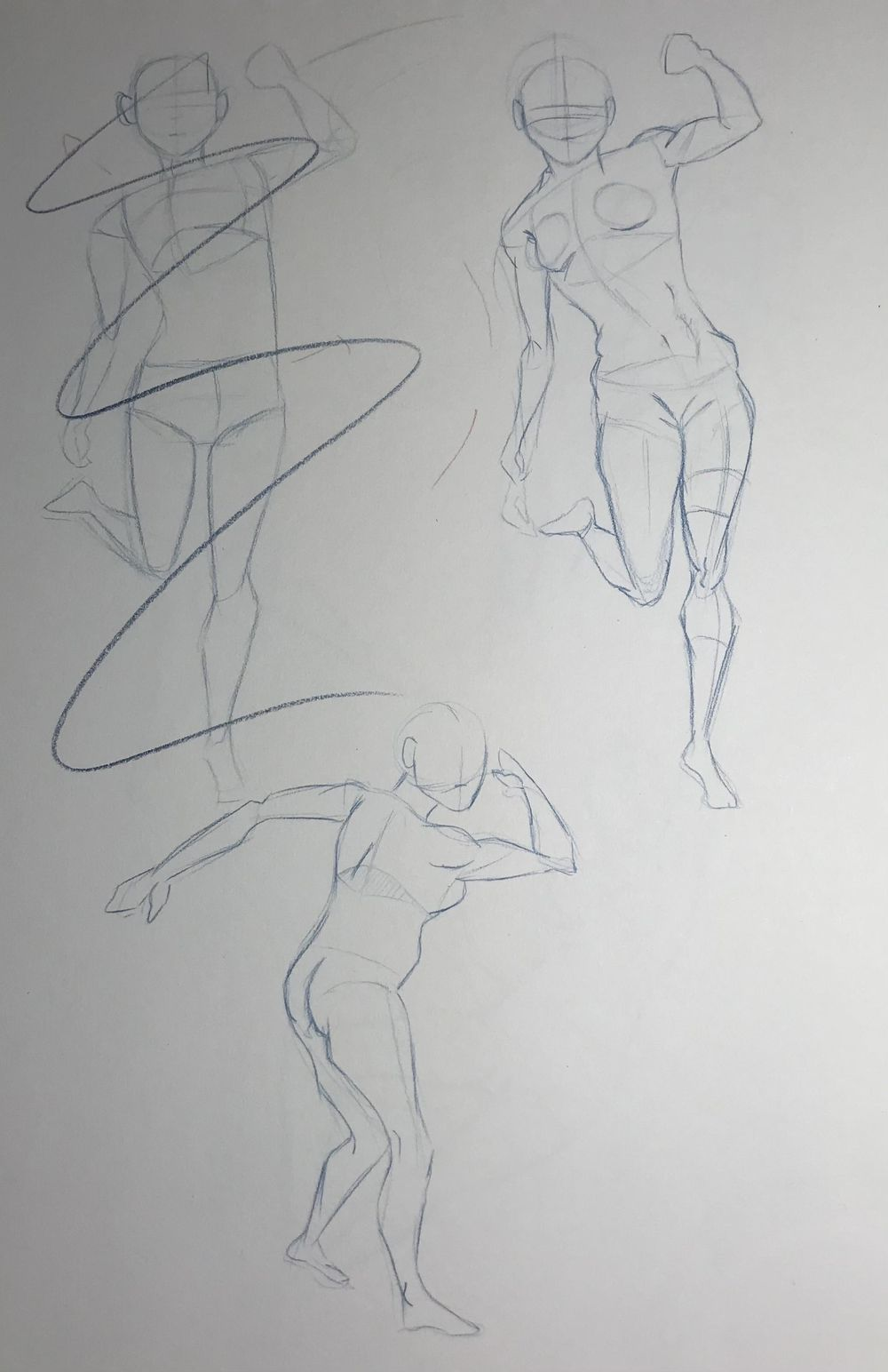 Gesture Drawing Practice (3) - image 7 - student project