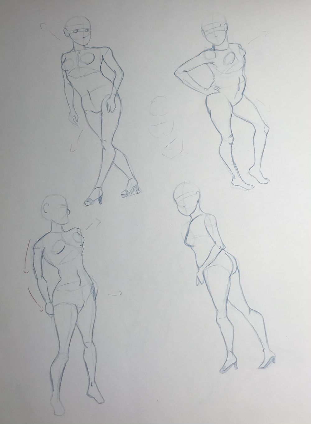 Gesture Drawing Practice (3) - image 4 - student project