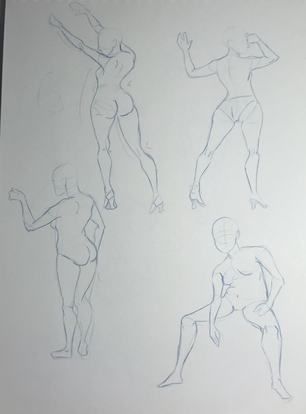 Gesture Drawing Practice (3) - image 5 - student project