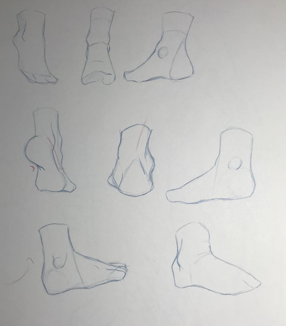 Gesture Drawing Practice (3) - image 1 - student project