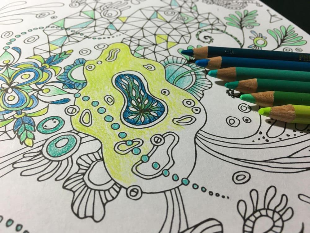 """Botanical Triangulation"" Pattern - image 6 - student project"