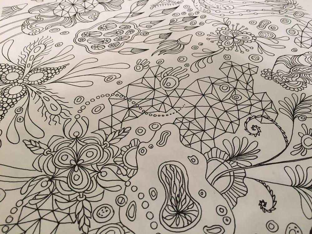"""Botanical Triangulation"" Pattern - image 3 - student project"