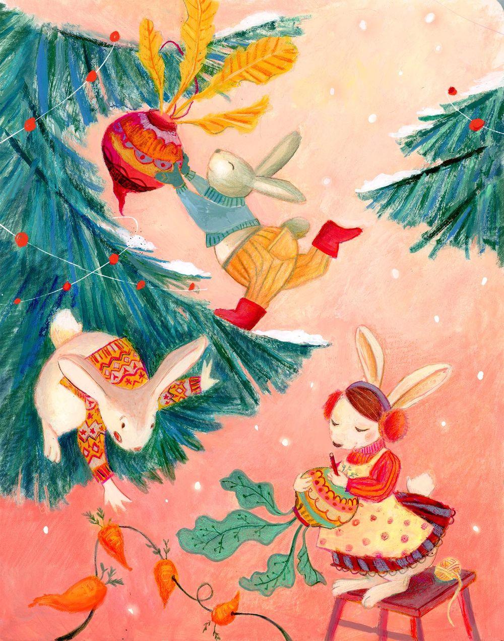 Illustrations for children- color studies - image 5 - student project