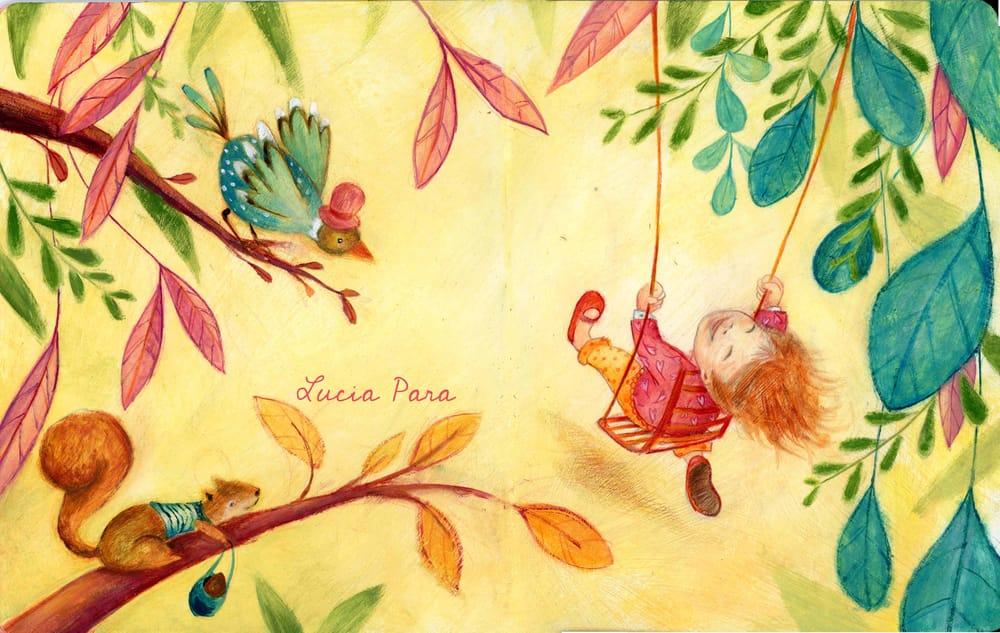Illustrations for children- color studies - image 2 - student project